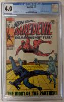 "1969 ""Daredevil"" Issue #52 Marvel Comic Book (CGC 4.0) at PristineAuction.com"