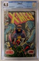 "1969 ""X-Men"" Issue #57 Marvel Comic Book (CGC 4.5) at PristineAuction.com"