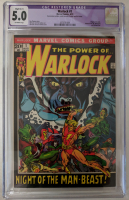 "1972 ""Warlock"" Issue #1 Marvel Comic Book (CGC Restored 5.0) at PristineAuction.com"