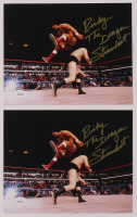 """Lot of (2) Ricky """"The Dragon"""" Steamboat Signed WWE 8x10 Photos (JSA COA) at PristineAuction.com"""