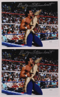 Lot of (2) Ricky Steamboat Signed WWE 8x10 Photos (JSA COA) at PristineAuction.com