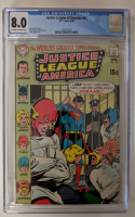 "1970 ""Justice League of America"" Issue #81 DC Comic Book (CGC 8.0) at PristineAuction.com"