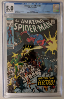 "1970 ""The Amazing Spider-Man"" Issue #82 Marvel Comic Book (CGC 5.0) at PristineAuction.com"