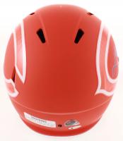 Lance Briggs Signed Bears Full-Size AMP Alternate Speed Helmet (Beckett COA) at PristineAuction.com