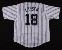 """Don Larsen Signed Jersey Inscribed """"WSPG 10-8-56"""" (JSA COA) at PristineAuction.com"""