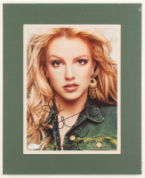 Britney Spears Signed 13x16 Custom Matted Magazine Photo Display (JSA COA) at PristineAuction.com