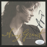 """Amy Grant Signed """"Behind the Eyes"""" CD Album Cover (JSA COA) at PristineAuction.com"""