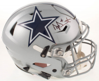 Dak Prescott Signed Cowboys Full-Size Authentic On-Field SpeedFlex Helmet (Beckett COA) at PristineAuction.com