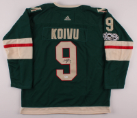 Mikko Koivu Signed Wild Adidas Captain Jersey (JSA COA) at PristineAuction.com