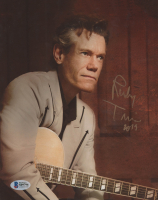 "Randy Travis Signed 8x10 Photo Inscribed ""2019"" (Beckett COA) at PristineAuction.com"