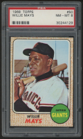 Willie Mays 1968 Topps #50 (PSA 8) at PristineAuction.com