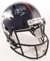 Peyton Manning Signed Broncos Full-Size Speed Helmet (Fanatics Hologram) at PristineAuction.com