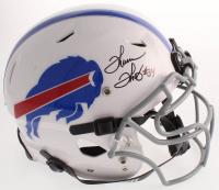 Thurman Thomas Signed Bills Full-Size Authentic On-Field Vengeance Helmet (Beckett COA) at PristineAuction.com