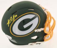 Aaron Jones Signed Packers AMP Alternate Speed Mini Helmet (JSA COA) at PristineAuction.com