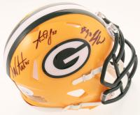 Danny Vitale, Jamaal Williams & Aaron Jones Signed Packers Speed Mini-Helmet (JSA COA) at PristineAuction.com