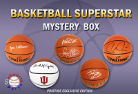 Schwartz Sports Basketball Superstar Signed Basketball Mystery Box - Series 14 (Limited to 75) (Pristine Exclusive Edition) at PristineAuction.com