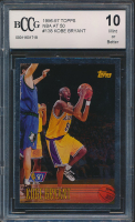 1996-97 Topps NBA at 50 #138 Kobe Bryant (BCCG 10) at PristineAuction.com