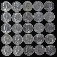Lot of (25) Kennedy Half-Dollars at PristineAuction.com