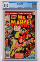 "1977 ""Ms. Marvel"" Issue #1 Marvel Comic Book (CGC 8.0) at PristineAuction.com"