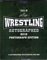 2019 Leaf Wrestling Autographed 8x10 Photo Mystery Box at PristineAuction.com