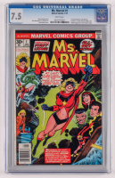 """1977 """"Ms. Marvel"""" Issue #1 Marvel Comic Book (CGC 7.5) at PristineAuction.com"""