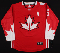Shea Weber Signed 2016 World Cup of Hockey Canadiens Jersey (YSMS COA) at PristineAuction.com