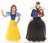 "Lot of (2) ""Snow White & the Seven Dwarfs"" Walt Disney Figurines with Snow White & The Evil Queen at PristineAuction.com"