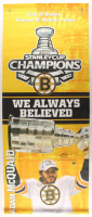 "Adam McQuaid Signed Bruins ""2011 Stanley Cup Champions"" 24x59 Banner Inscribed ""2011 Stanley Cup Champs"" (McQuaid COA) at PristineAuction.com"