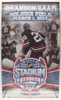 "Brandon Saad Signed Blackhawks ""2014 Stadium Series"" 27x45 Banner (Saad COA) at PristineAuction.com"