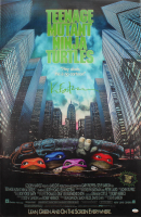 "Kevin Eastman Signed ""Teenage Mutant Ninja Turtles"" 24x36 Vinyl Movie Poster with (4) Hand-Drawn Sketches (JSA COA) at PristineAuction.com"