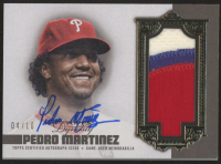Pedro Martinez 2019 Topps Dynasty Autograph Patches #DAPPM7 at PristineAuction.com