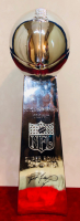 Brett Favre Signed Replica Full-Size Super Bowl Lombardi Trophy (JSA LOA) at PristineAuction.com
