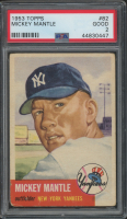 Mickey Mantle 1953 Topps #82 (PSA 2) at PristineAuction.com