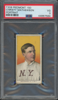 Christy Mathewson 1909-11 T206 #308 Portrait (PSA 3) at PristineAuction.com