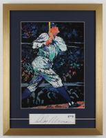 "LeRoy Neiman Signed ""Babe Ruth"" 17.5x23 Custom Framed Cut Display (PSA COA) at PristineAuction.com"