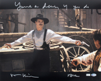 """Val Kilmer Signed """"Tombstone"""" 16x20 Photo Inscribed """"You're A Daisy If You Do"""" & """"Doc"""" (Beckett COA) at PristineAuction.com"""
