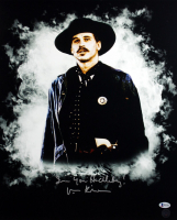 """Val Kilmer Signed """"Tombstone"""" 16x20 Photo Inscribed """"I'm Your Huckleberry"""" & """"Doc"""" (Beckett COA) at PristineAuction.com"""