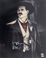 """Val Kilmer Signed """"Tombstone"""" 16x20 Photo Inscribed """"Doc"""" (Beckett COA) at PristineAuction.com"""