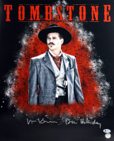 "Val Kilmer Signed ""Tombstone"" 16x20 Photo Inscribed ""Doc Holliday"" (Beckett COA & Kilmer Hologram) at PristineAuction.com"