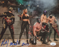 "Mil Muertes Signed 8x10 Photo Inscribed ""2017"" (JSA COA) at PristineAuction.com"