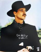 "Val Kilmer Signed ""Tombstone"" 16x20 Photo Inscribed ""Doc Holliday"" (Beckett COA & Kilmer Hologram) at PristineAuction.com"
