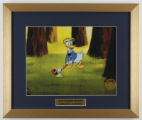 "Walt Disney's ""Donald's Golf Game"" 16x19 Custom Framed Animation Serigraph Display at PristineAuction.com"