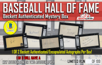 """""""Baseball Hall of Fame Signatures"""" Beckett Authenticated Mystery Box at PristineAuction.com"""