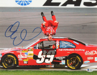 Carl Edwards Signed NASCAR 11x14 Photo (Beckett COA) at PristineAuction.com