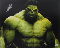 "Stan Lee Signed ""The Hulk"" 16x20 Photo (PSA COA) at PristineAuction.com"
