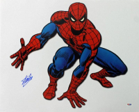 "Stan Lee Signed ""Spider-Man"" 16x20 Photo (PSA COA) at PristineAuction.com"
