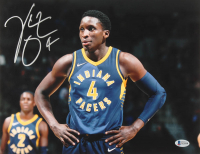 Victor Oladipo Signed Pacers 11x14 Photo (Beckett COA) at PristineAuction.com