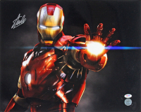 "Stan Lee Signed ""Iron Man"" 16x20 Photo (PSA COA & Lee Hologram) at PristineAuction.com"