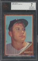 Mickey Mantle 1962 Topps #200 (BVG 7) at PristineAuction.com