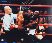 Mike Tyson Signed 16x20 Photo (PSA COA) at PristineAuction.com